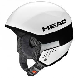 casco esquì Head Stivot Race Youth Carbon blanco