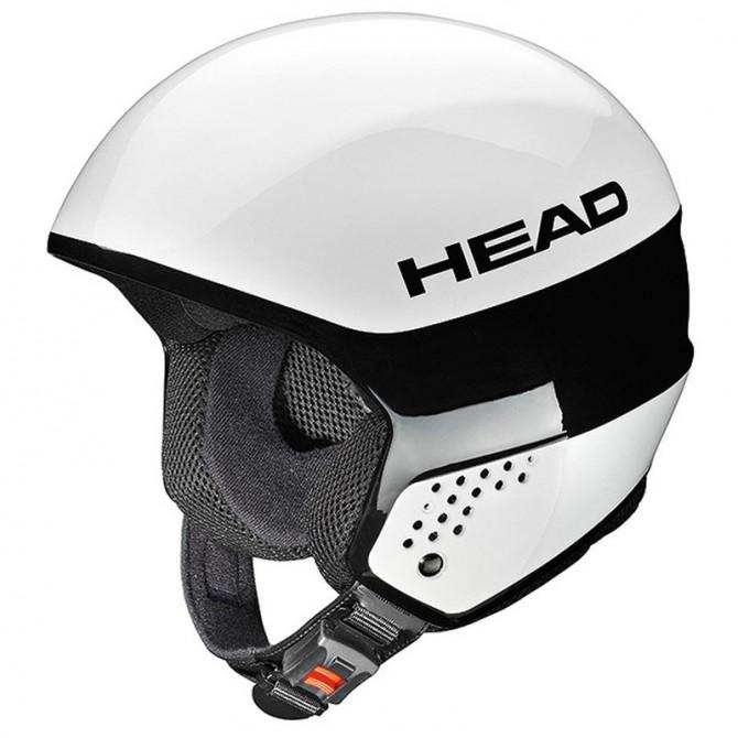 ski helmet Head Stivot Race Youth Carbon white