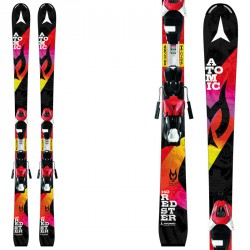 Ski Atomic Redster Jr III Marcel Etm + fixations E Xte 7 de fantaisie noire