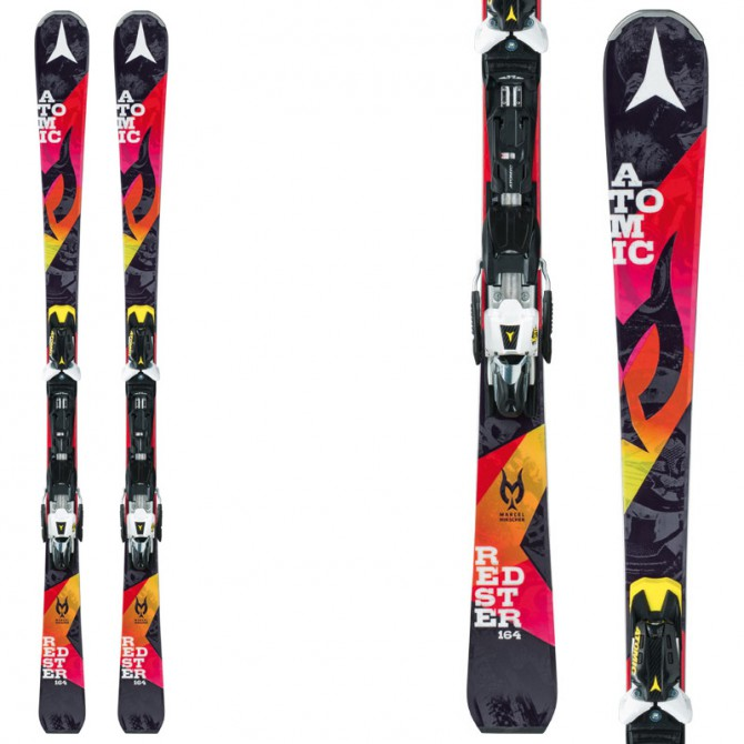 Esquí Atomic Redster Marcel + fijaciones X 12 Tl Ome