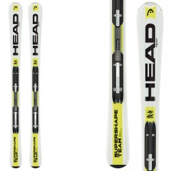 Ski Head Supershape Team Lr + fixations Lrx 4.5 Ac Br 74