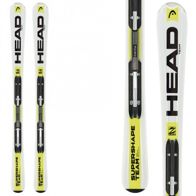 Ski Head Supershape Team Lr + fixations Lrx 4.5 Ac Br 74