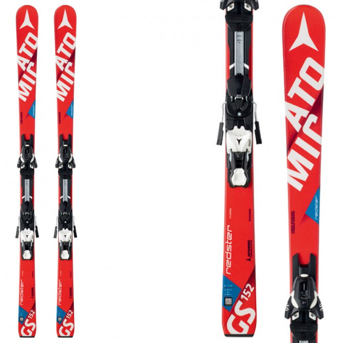 Sci Atomic Redster Fis Gs Jr + attacchi Xtl 10 Race rosso-bianco