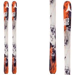 Touring ski Atomic Backland 85 black-orange
