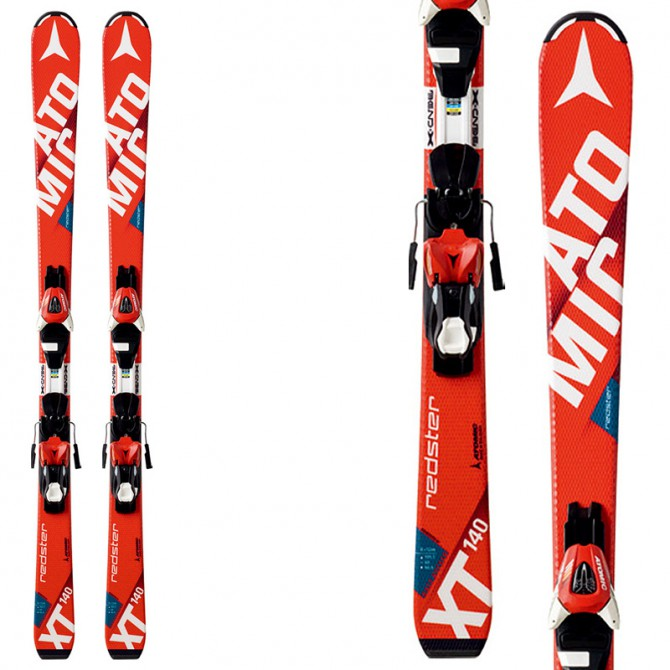 Sci Atmic Redster Jr III + attacchi Xte 7 rosso