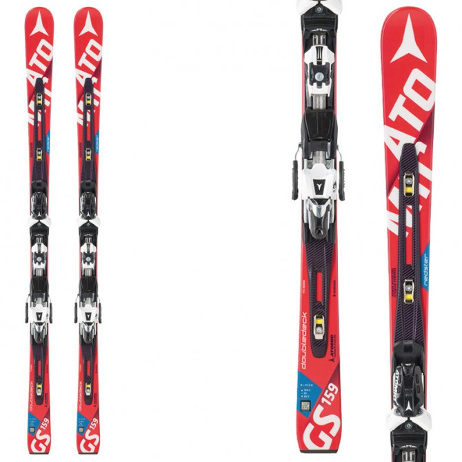 Ski Atomic Redster Fis D2 Gs Jr + fixations X 12 rouge