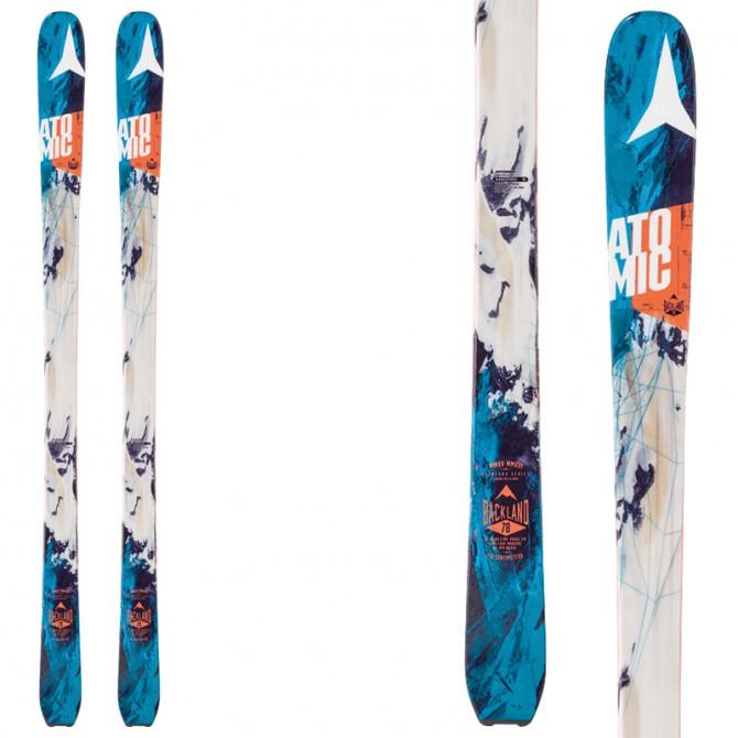 Touring ski Atomic Backland 78 white-blue