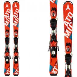 Esquí Atomic Redster Jr II Ets + fijaciones Xte 4.5 rojo