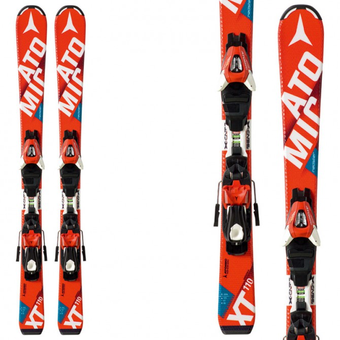 Sci Atomic Redster Jr II Ets + attacchi Xte 4.5 rosso