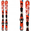 Ski Atomic Redster Jr II Ets + bindings Xte 4.5 red