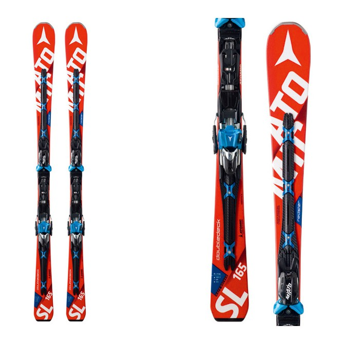 Sci Atomic Redster Doubledeck Sl Mtl + attacchi X 12 Tl Ome rosso
