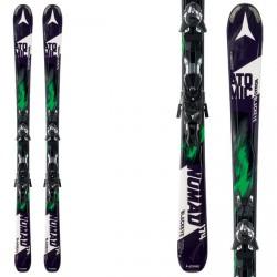 Ski Atomic Nomad Blackeye Arc-L + fixations Xto 12 noire-vert