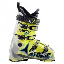 Ski boots Atomic Hawx 100 crystal-lime