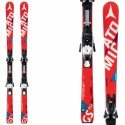 Esquí Atomic Redster Fis Gs Jr Smt + fijaciones Xtl 12 Race rojo-blanco