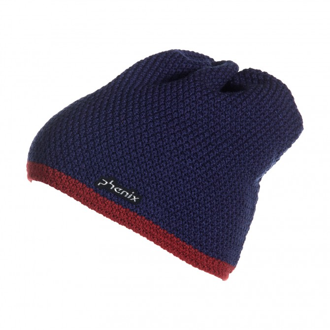 Sombrero para Ski Phenix Norway Alpine Team Brick azul-bordeaux
