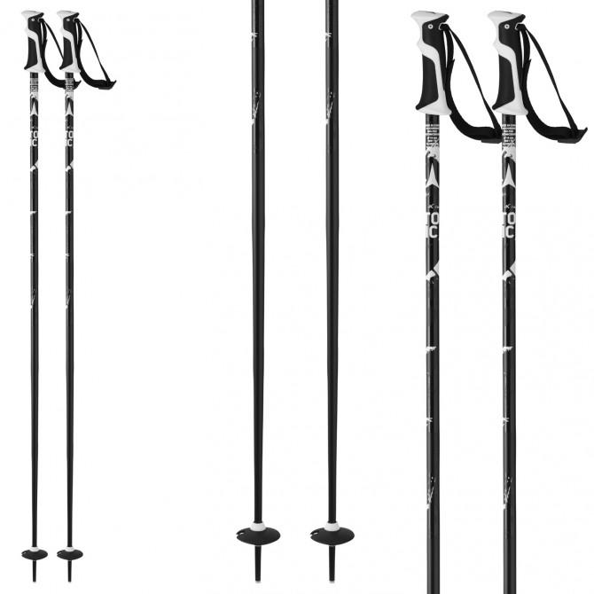 Bastones de esquí Atomic Amt2 negro-blanco