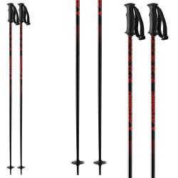 Ski poles Atomic Amt black-red