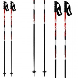 Bâtons de ski Atomic Redster 10 noir-rouge