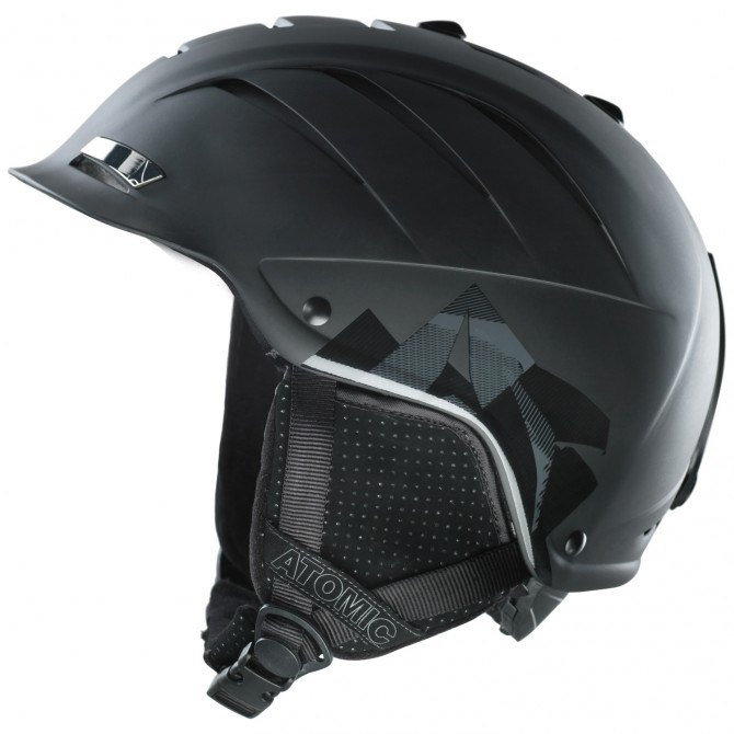 Casco sci Atomic Nomad nero