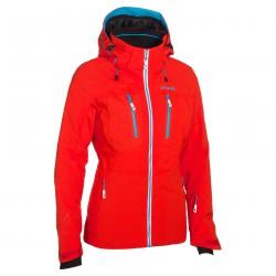 veste de ski Phenix Snow Light orange foncé-bleu