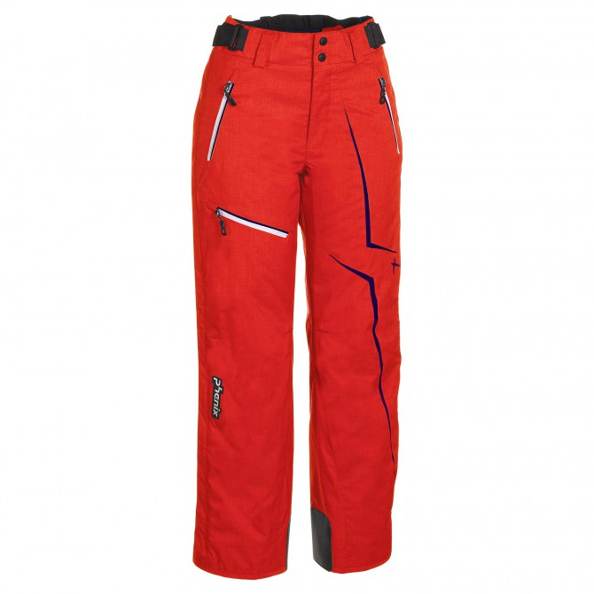 pantalones de esquí Phenix Norway Alpine Team anaranjado oscuro