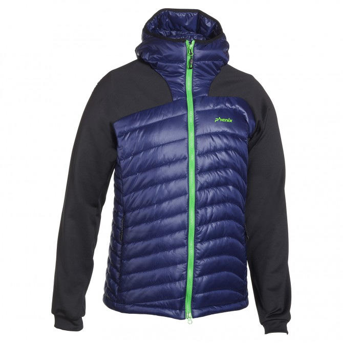 down jacket Phenix Force Middle navy-black