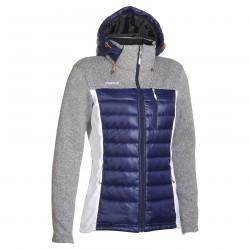 down jacket Phenix Moonlight blue-white-grey