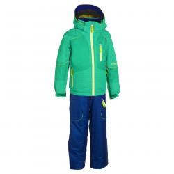 traje de esquí Phenix Suku-suku Hardanger verde-royal