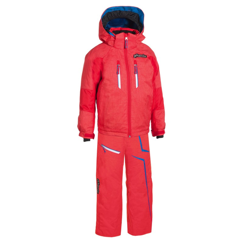 Tuta sci Phenix Suku-suku Norway Alpine Team arancione scuro