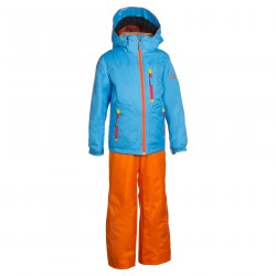 combinaison de ski Phenix Suku-suku Smart turquoise-orange