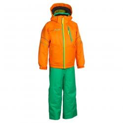 traje de esquí Phenix Suku-suku Sogne naranja-verde