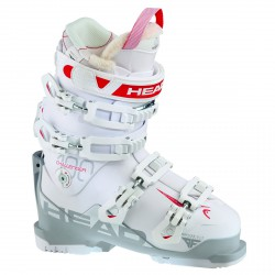 Chaussures ski Head Challenger 100 W blanc-gris-rouge