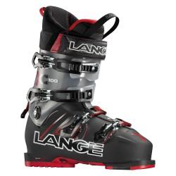 Scarponi sci Lange Xc 100 nero-rosso