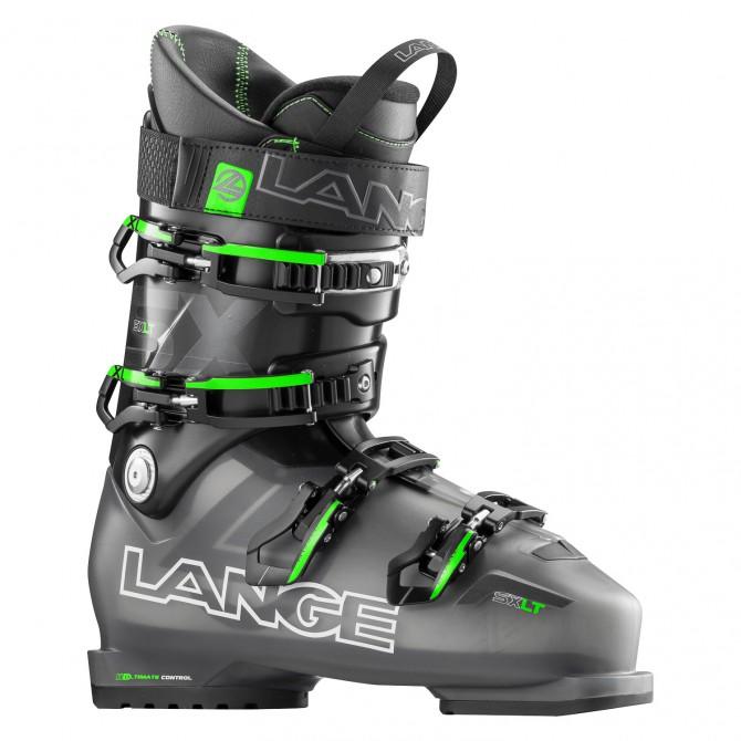 Chaussures ski Lange Sx Lt anthracite transparent-vert