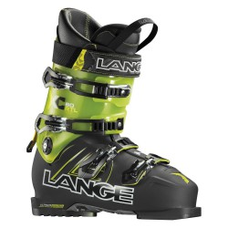 Scarponi sci Lange Xc Rtl nero-giallo trasparente
