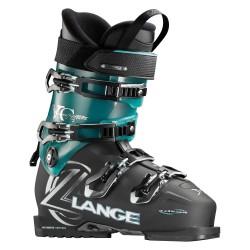 Chaussures ski Lange Xc Rtl W noir transparent-bleu