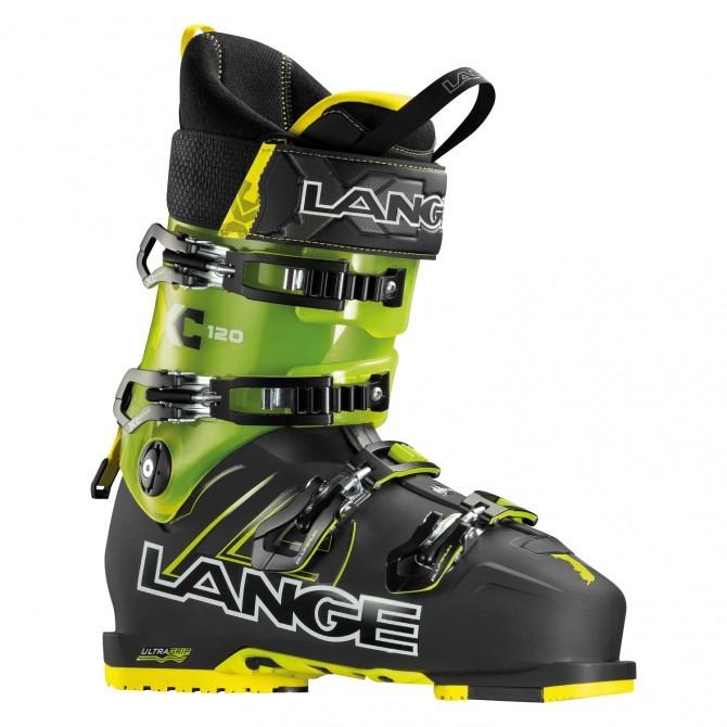 Botas esquí Lange Xc 120 negro-amarillo transparente