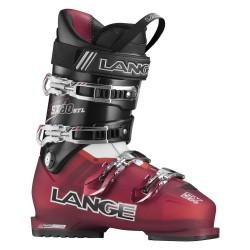 Scarponi sci Lange Sx Rtl rosso trasparente-nero