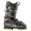 Ski boots Lange Sx 90 transparent anthracite-yellow