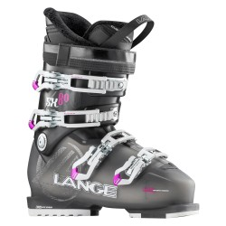 Ski boots Lange Sx 80 W transparent anthracite-red
