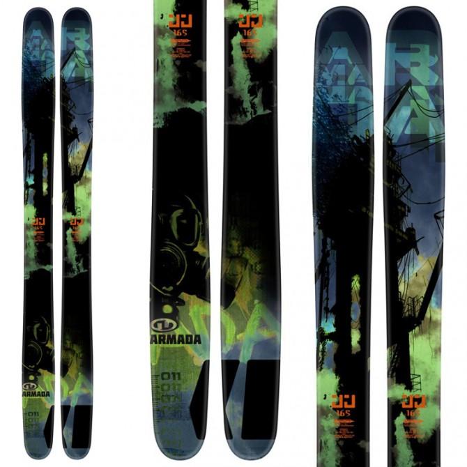 Esquí Armada JJ + fijaciones Vist V614 negro
