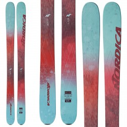 Ski Nordica Santa Ana + bindings Prd 11 red-teal
