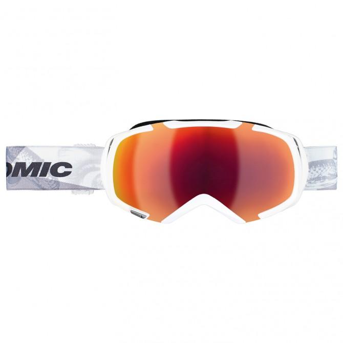 Masque ski Atomic Revel³ M Marcel blanc-noir