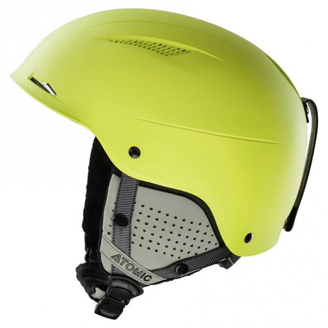 casco sci Atomic Savor LF giallo limone