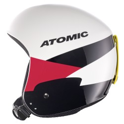 Casco sci Atomic Redster WC bianco-rosso