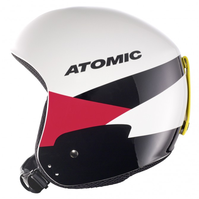 Casco esquí Atomic Redster WC blanco-rojo