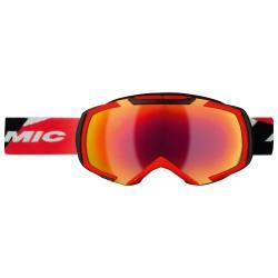 Maschera sci Atomic Revel³ M + lente arancione-nero