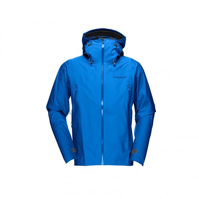 Falketind GTX Soft-Shell blue-light blue
