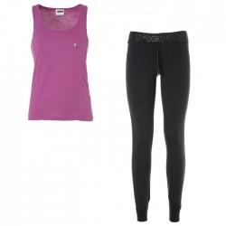 pantalones + camiseta Freddy AEROFIT3TS mujer
