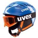 Casco de esquì Uvex Junior Set + màscara azul